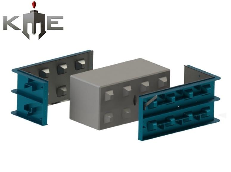 Lego Block steel mould