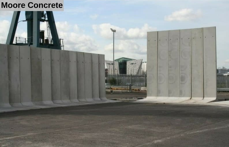 L Wall Concrete Product