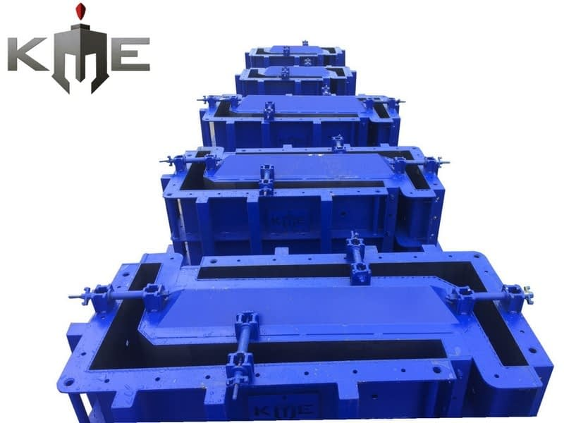 L Wall Steel Mould