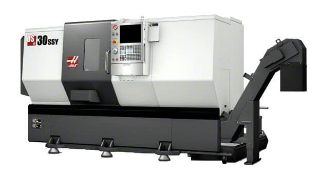 DS 30SSY HAAS Dual Spindle Turning Centre