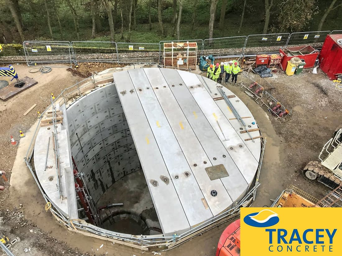 Tracey Concrete Shaft Slab