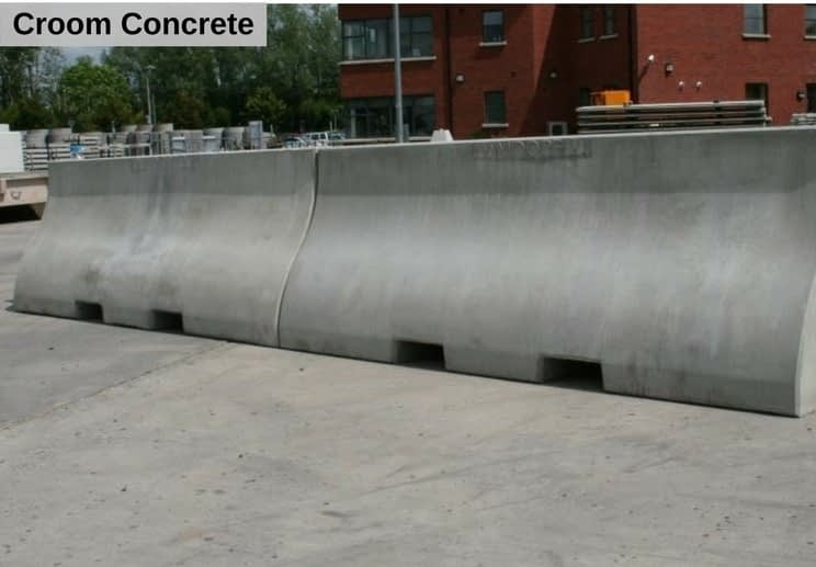 DB80 Pedestrian Barrier Concrete Product