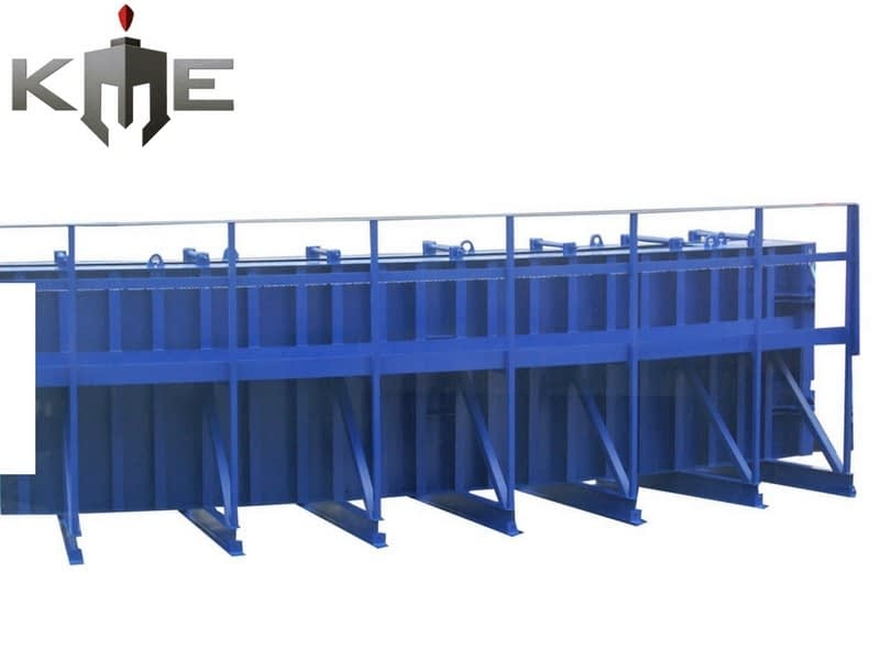 Bridge arch steel mould